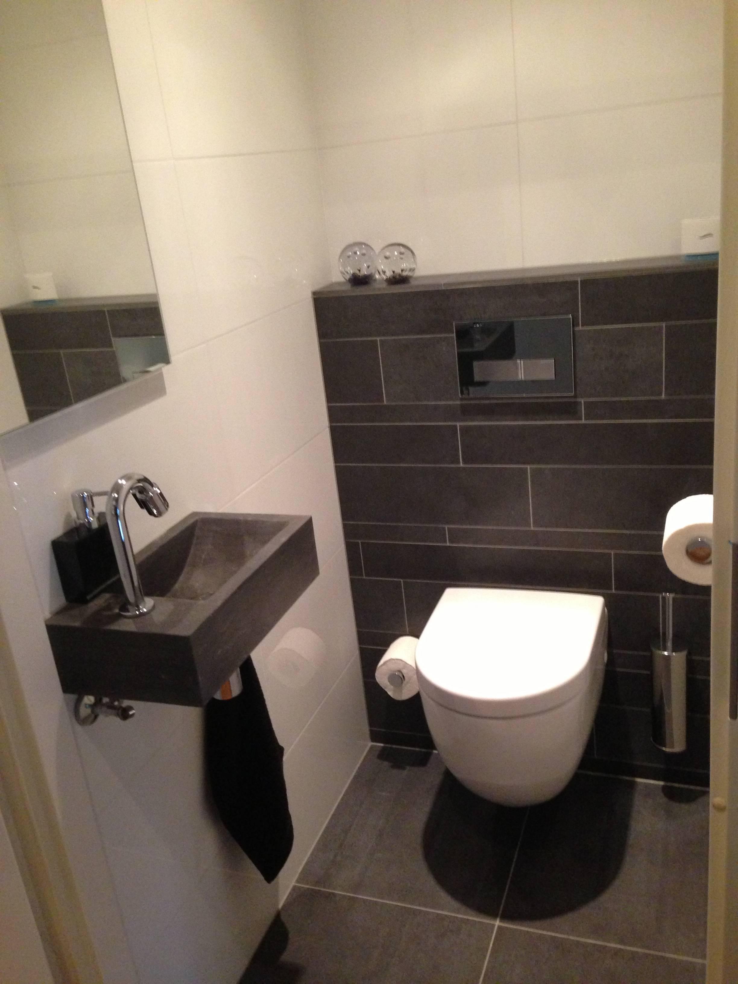 Wc opnieuw betegeld erik de graaf badkamer design - Badkamer betegeld ...